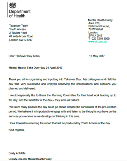 Thank You Team Letter from ypas.org.uk